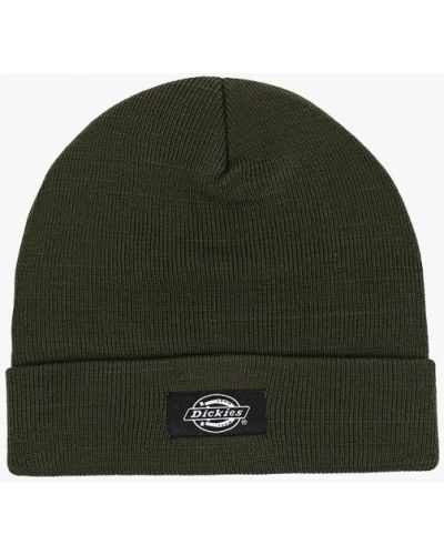 Зеленая шапка осенняя Dickies
