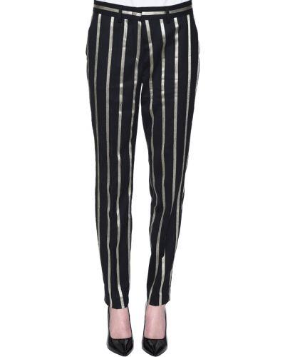 Черные брюки Rene Lezard
