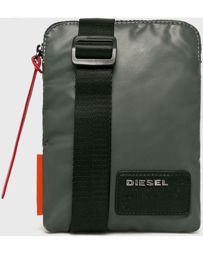 Сумка через плечо универсальный серая Diesel