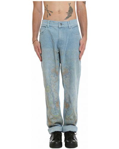 Niebieskie mom jeans Pleasures