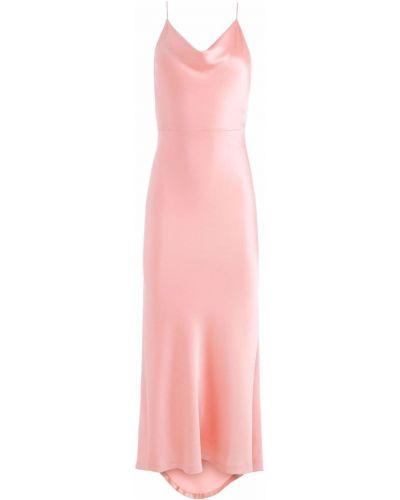 Платье макси без рукавов - розовое Alice+olivia