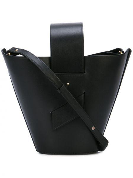Черная сумка-тоут Carolina Santo Domingo