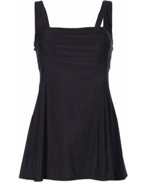Платье купальное черное Bonprix