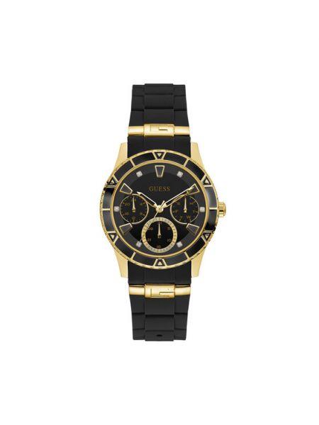 Czarny zegarek Guess