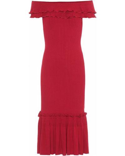 Платье миди вязаное на тонких бретелях Jonathan Simkhai