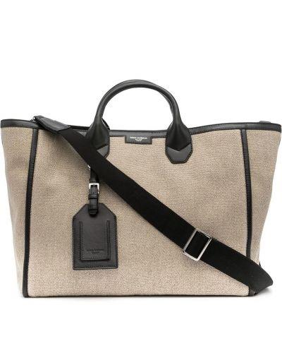Кожаные капри с накладными карманами с потайной застежкой Dolce & Gabbana