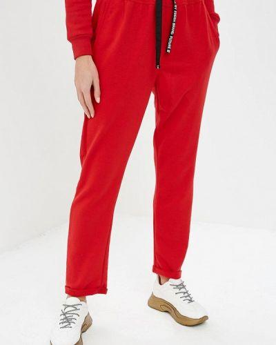 Спортивные брюки красный весенний Fresh Brand