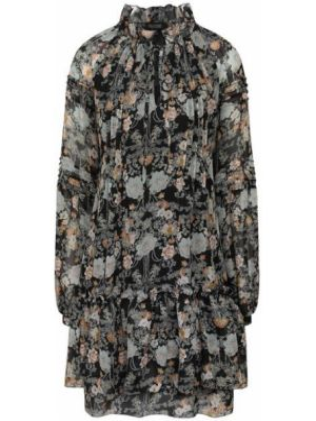 Платье мини - черное Poustovit