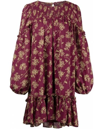 Платье макси длинное - красное Cinq À Sept