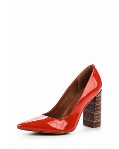 Красные туфли для офиса Indiana