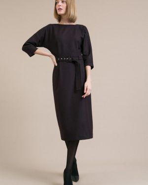 Повседневное платье на пуговицах с V-образным вырезом Emka