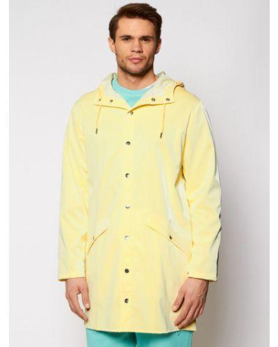 Żółta kurtka Rains