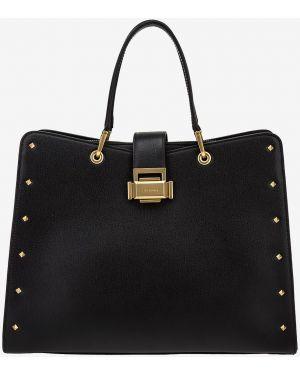 Кожаная сумка черная Cromia