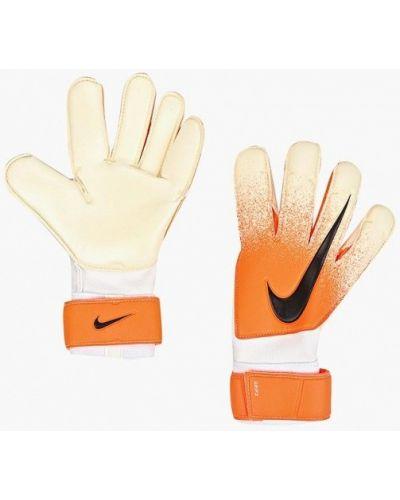 Перчатки весенние оранжевые Nike