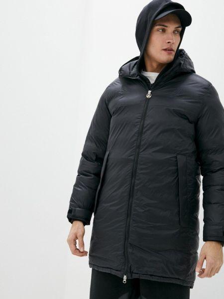 Утепленная куртка черная Adidas