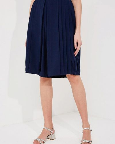 Синяя юбка шорты Tory Burch