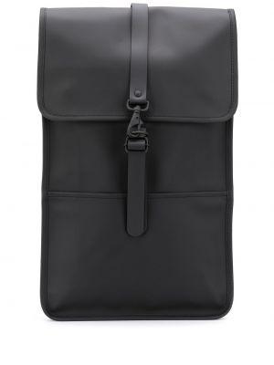 Рюкзак из полиэстера - черный Rains