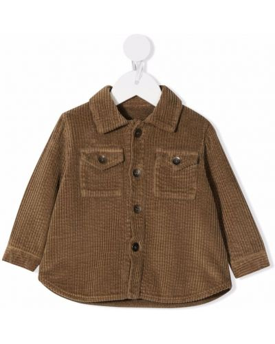Klasyczna koszula - brązowa Zhoe & Tobiah
