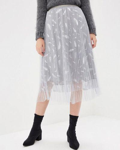 Плиссированная юбка осенняя Paccio