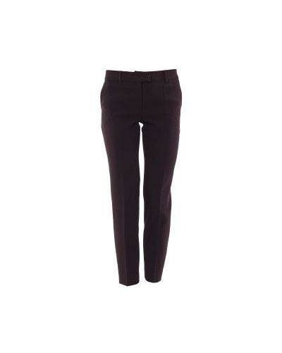 Черные летние брюки Moschino Cheapandchic