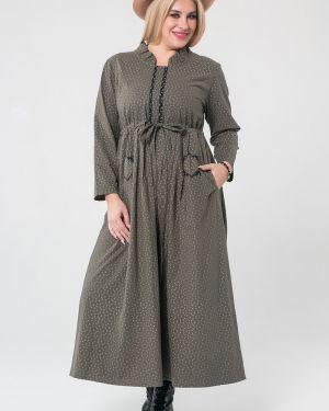 Платье со складками платье-сарафан Luxury