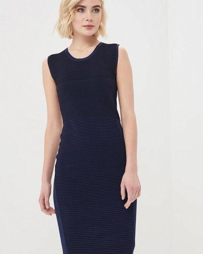 Синее платье Rodier