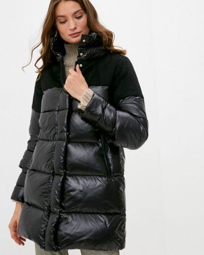 Черная зимняя куртка Hetrego