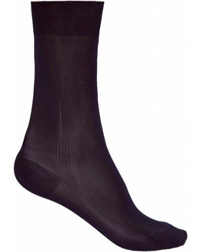 Носки в рубчик шелковые Brioni