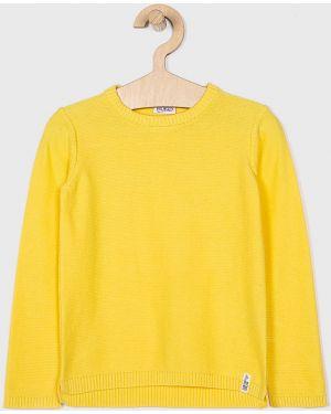 Желтый свитер из плотной ткани Blukids