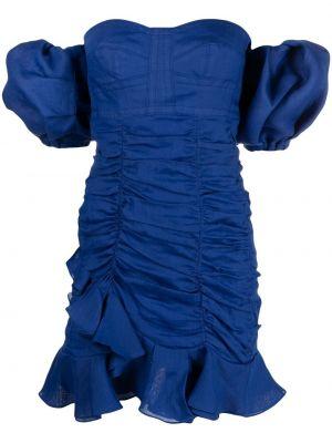 Платье мини короткое - синее Isabel Marant