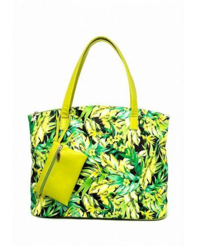 Зеленая пляжная сумка Solo