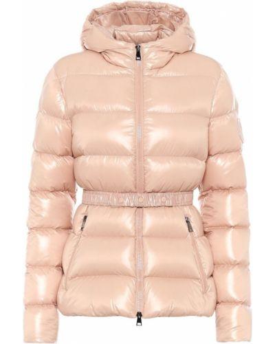 Куртка розовая пуховый Moncler