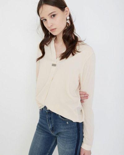 Блузка с длинным рукавом весенний бежевый Lime