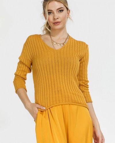 Желтая кофта осенняя Clever Woman Studio