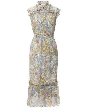 Платье шелковое Zimmermann
