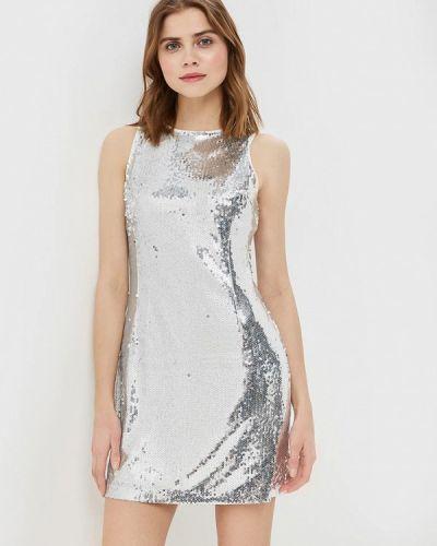 Платье серебряный You&you