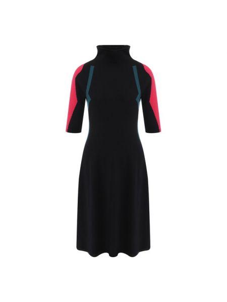 Платье розовое со складками Giorgio Armani