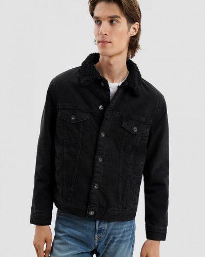 Джинсовая куртка - черная O'stin