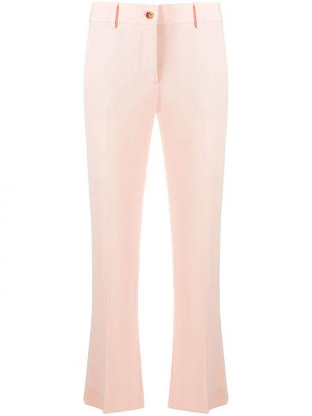 Укороченные брюки с карманами на молнии Alberto Biani