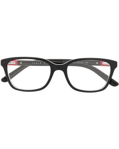 Czarny oprawka do okularów plac za pełne Vogue