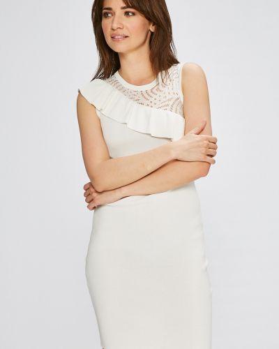 Платье мини с оборками Morgan