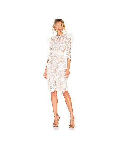 Платье футляр с прозрачными рукавами Bronx And Banco