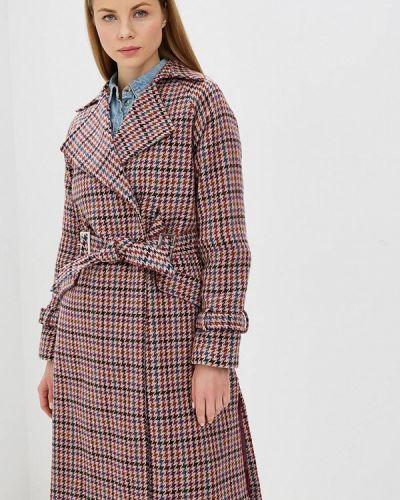 Пальто демисезонное розовое Lost Ink.