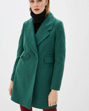 Пальто зеленое пальто United Colors Of Benetton