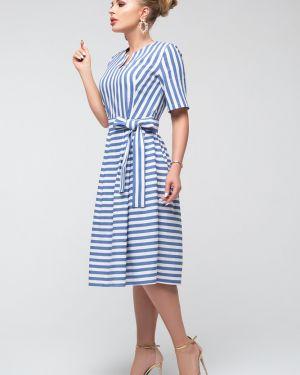 Платье с поясом платье-сарафан льняное петербургский швейный дом