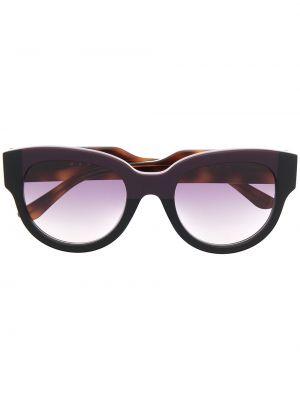 Фиолетовые солнцезащитные очки Marni Eyewear