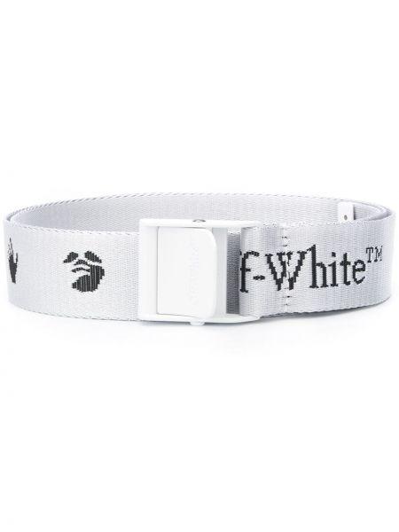 Белый ремень Off-white