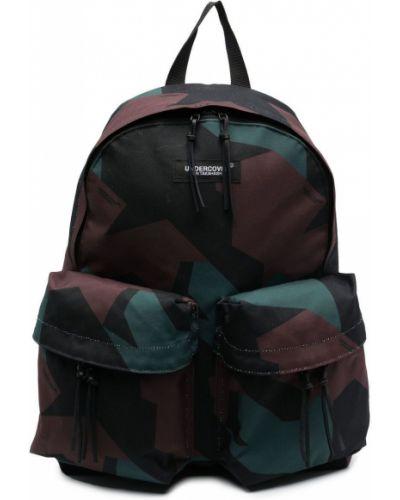 Zielony plecak z printem Undercover