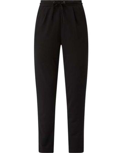 Czarne spodnie bawełniane Fransa