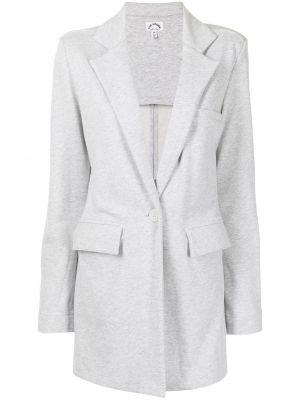 Пиджак длинный - серый The Upside